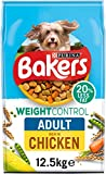 Bakers Weight Control Dry Dog Food Chicken 12.5kg