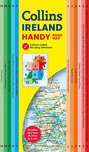 Irlanda Handy Map 1:630.000. Collins. (Maps) [Idioma Inglés]