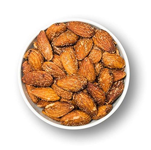 1001 Frucht gesalzene Mandeln mit Haut geröstet 500 g I ganze Mandeln mit Schale I Knabberspaß Mandelkerne geröstet gesalzen I gesund snacken Salzmandeln geröstet I Snack zum Wein Mandeln Spanien