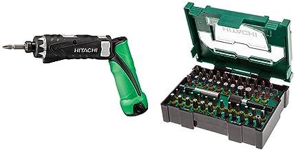 Hitachi DB3DL2 - Taladro 240w + Hitachi 400,300,24 Apilables para juego de brocas (60 piezas)