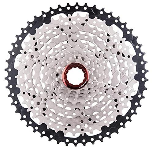 Cassette de bicicletas de montaña, acero de 9 velocidades de acero 11-50t de ancho Relación Bicicleta de montaña Rueda FreeWheel MTB Accesorios