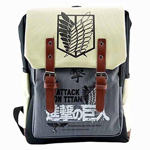 CoolChange Attack on Titan Rucksack mit Dokumentenfach