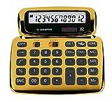 OSAMA SOFTY calcolatrice design 12 cifre oro...
