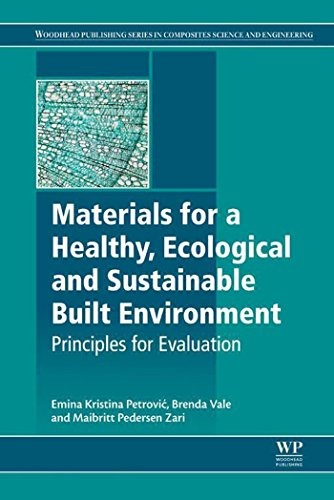 Materials for a Healthy, Ecological and Sustainable Built Environment: Principles for Evaluation (Wo