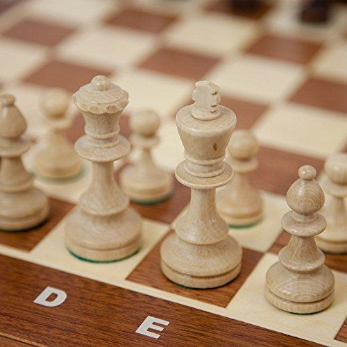 Albatros Profi Schachspiel Turnierschach Schach Staunton 4