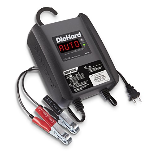 DieHard 71321 6 Amp 6/12V Compact Smart Battery Charger and 6A Maintainer