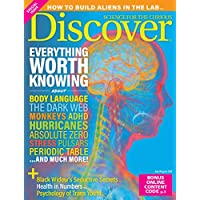 Deals on Discover Magazine Subscription 1 year 8 issues
