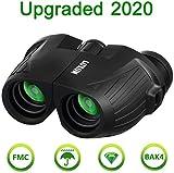 12x25 HD Mini Binoculars for Adults and Kids, SGODDE Compact Folding Binoculars