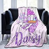 RGFK Ultra-Soft Throw Blanket,Daisy Duck Design Warm Blanket Bedspreads for Men Women 50 x 40 inch