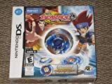 Nintendo DS BEYBLADE Metal Fusion Game with BLUE BAKUSHIN SUSANOW 105F WAL-MART EXCLUSIVE