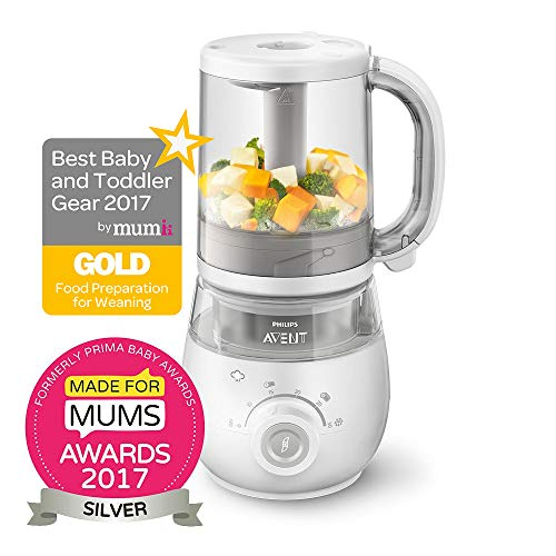 Philips Avent SCF875/01 4-in-1 Babynahrungszubereiter – weiß (IMPORT UK) - 2