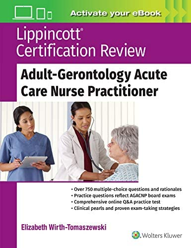 Lippincott Certification Review Adult Gerontology Acute Care Nurse Practitioner product image