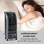 KLARSTEIN Maxfresh - Rafraîchisseur d'air, Humidificateur, Ventilateur, Refroidisseur, 55W, 444 m³/h, 4 Vitesses, 3 Modes, Minuterie jusqu'à 15h, Affichage LED, Réservoir 6L - Bleu #2