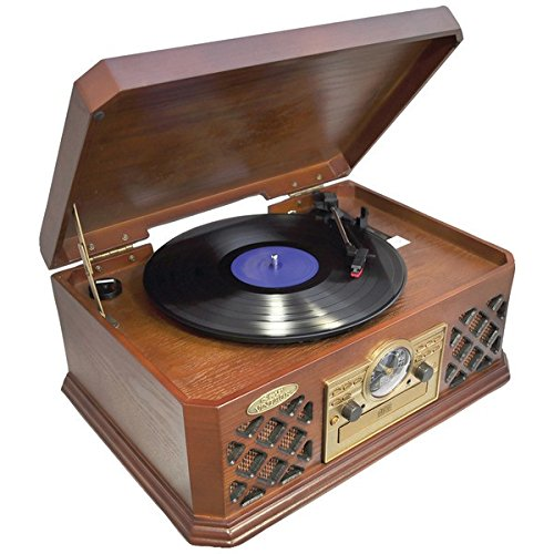 Buy Discount Pyle Ptcd4Bt Retro Style Turntable With Bluetooth(R)