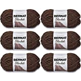 Bernat Blanket Yarn, 5.3oz, 6-Pack (Taupe)