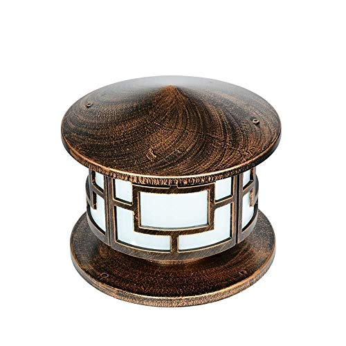 LIUYULONG Aplique Pared Industrial Pilar Poste lamparas de diseño Elegante CREA Nocturna Visibilidad Ambiente romántico lámpara incandescente de Aluminio, Vidrio 28 * 30cm