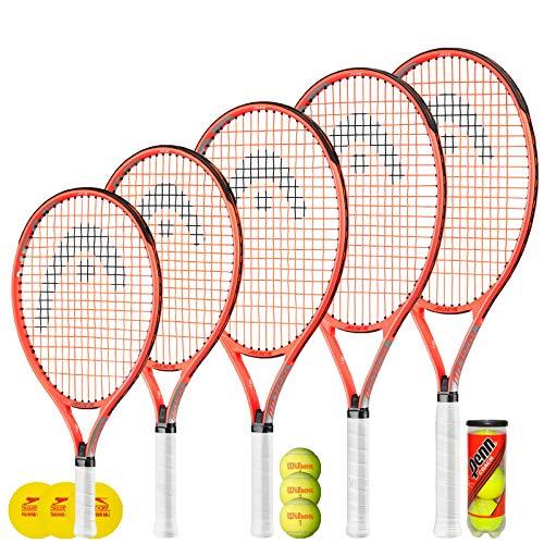 Raqueta de Tenis HEAD Radical Junior + 3 Pelotas de Tenis...