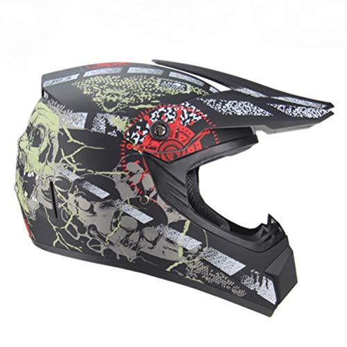 Casco de motocross para motocicleta Capacete Para Dirt Bike Racing DOT Casco de moto Cascos Para Moto de cara completa aprobado