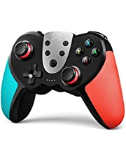 TERIOS Wireless Pro Controller Compatible with Nintendo Switch,Switch Lite – Premium Joypad for Video Games – 3 Levels of Turbo Speed – NFC Technology–Adjustable Vibration Intensity