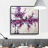 YWOHP Decoración del hogar Moderna Sala de Arte de la Pared Pintura Flor de la orquídea Blanca Pintu...