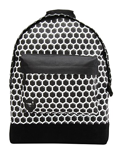 Mi-Pac Custom Prints Backpack Mochila Tipo Casual, 41 cm, 17 Litros, HoneyC Blk/Wht
