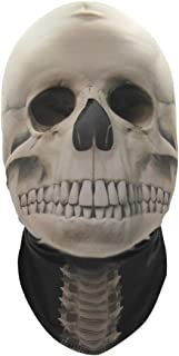 Full Face Scary Realistic Sublimated Stretch Fabric Masks - One Size Fits Most Adults