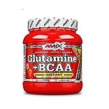 AMIX - Bcaa Glutamina - 530 Gramos - Complemento Alimenticio de Glutamina en Polvo - Reduce el Catabolismo Muscular - Óptimo para Deportistas - Sabor Cola - Aminoácidos Ramificados