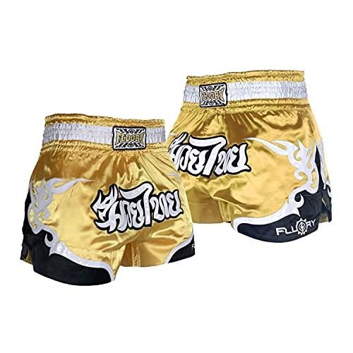FLUORY Muay Thai Kampf-Shorts, MMA...