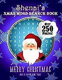 Shenai's Xmas Word Search Book: Over 250 Large Print Puzzles For Shenai / Wordsearch / Santa Bubble...
