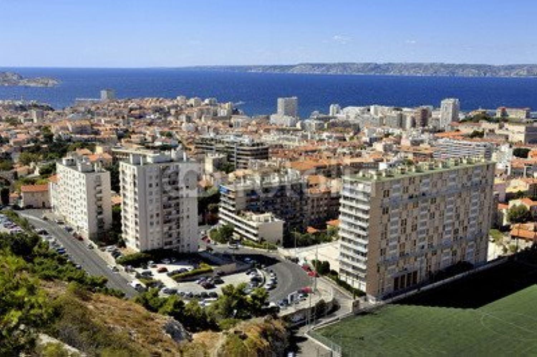 Desconocido druck-shop24 92232275 Aerial View of Marseille - Imagen sobre Lienzo, póster de Fotos, Cartel de Aluminio, Cristal acrílico, Placa Forex, lámina Adhesiva