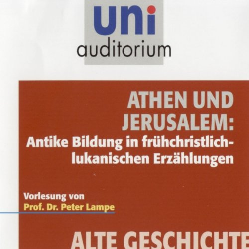 Athen und Jerusalem Titelbild
