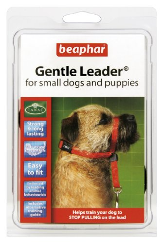 Beaphar Gentle Leader - Licol pour Chien, Taille S, Rouge