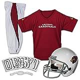 Franklin Sports Arizona Cardinals Kids Football Uniform Set - NFL Youth Football Costume for Boys & Girls - Set Includes Helmet, Jersey & Pants - Small