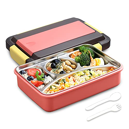 Anyingkai Bento Box,Bento Box Isotherme,Bento Box Isotherme Chaud,Boite Bento Enfantboite Bento Micro Onde,Lunch Box Isotherme Chaud et Froid