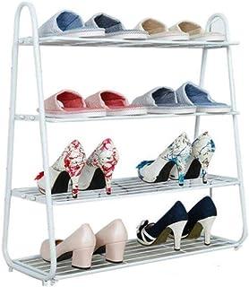 JJZXT Fer Chaussures Rack, Simple Maison Multi-Couche Fer Art Dortoir Slipper étagère de Stockage