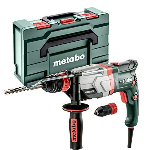Metabo 600713500 600713500-Martillo Ligero SDS-Plus UHE 2860-2 Quick 1100W, 1 W, 1 V, Verde - Negro, Size