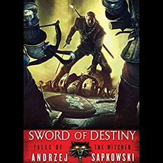 Sword of Destiny                   Written by:                                                                                                                                 Andrzej Sapkowski                               Narrated by:                                                                                                                                 Peter Kenny                      Length: 12 hrs and 48 mins     98 ratings     Overall 4.8