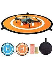 CYH Drone Landing Pad, 55 cm / 22'' Przenośne składane pady Landing Pads, drony, uniwersalne składane dron miejsce do lądowania dla DJI Mavic 2 Pro /Zoom/Mavic Pro/Mavic Air 2/Spark /FIMI X8SE/Mavic Mini