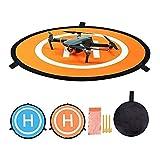 CYH Drone Landing Pad, 22'/55cm Pista de Aterrizaje de Drones, Impermeable Helicoptero Plegable Portátil Landig Mat para dji Mavic Pro Phantom 2/3/4/Pro,Helicóptero RC,Mavic Pro, Chispa,Inspire Drone