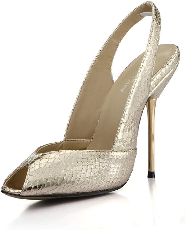 IWlxz Women's Satin Fall Spring & Summer Classic Minimalism Sandals Stiletto Heel Peep Toe gold Black Wedding Party & Evening
