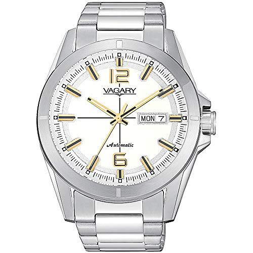 Orologio Solo Tempo Uomo Vagary By Citizen Gear Matic 101