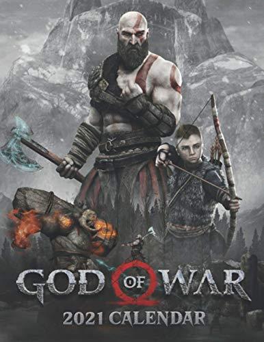 God of War 2021 Calendar