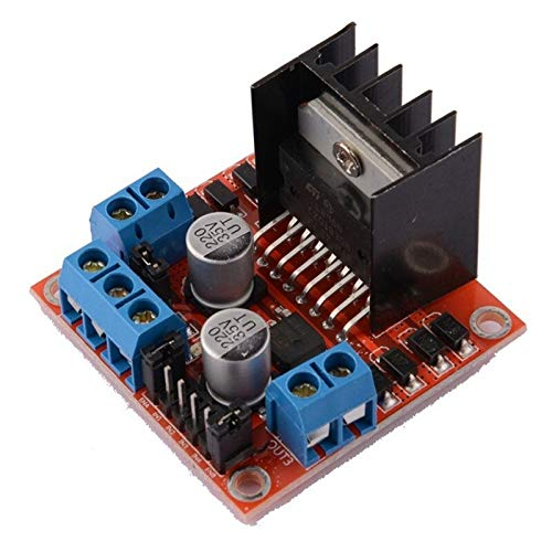 WSCHENG 5 PCS L298N Motor Drive Controller Board DC Dual H-Bridge Robot Stepper Motor Control And Drives Module For Arduino Smart Car