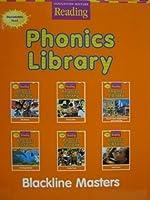 Houghton Mifflin Reading: The Nation's Choice California: Phonics Library Blackline Masters Grade 2 0618161716 Book Cover