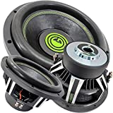 Car Vehicle Subwoofer Audio Speaker - 15 Inch Competition Grade Pressed Paper Cone, 2 Ohm DVC, Advanced Air Flow, 3500W Power for Stereo Sound System - Gravity Warzone GW15D2 (1 Subwoofer)