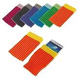 BRALEXX Universal Textil Socke passend für Allview E4, Orange
