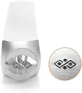 Impressart Diamant Patroon Grens Ontwerp Stempel 6mm