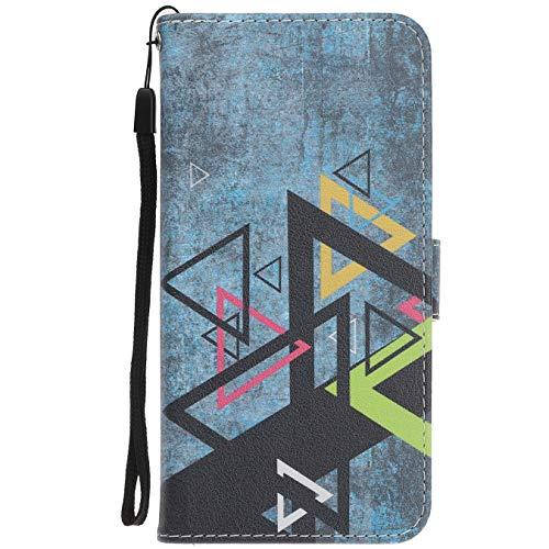 Langlee Für Cubot X18 (2017) Hülle, PU Ledercase Tasche Hüllen Schutzhülle Magnetverschluss Handyhülle Standfunktion Handycover - Design Nr. 5