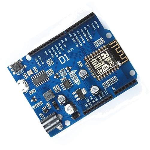 TECNOIOT ESP-12F WeMos D1 WiFi Based ESP8266 for Compatible IDE