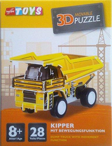 Herpa 800297-003 Kipper mit Bewegungsfunktion